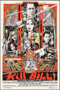 Kill Bill: The Whole Bloody Affair, 279/600 by Tyler Stout (Mondo, 2011). Mint. Hand Numbered Limited Edition Screen Pri...