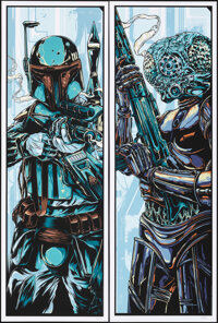 The Empire Strikes Back, 41/425 by Ken Taylor (Mondo, 2010). Mint. Set of 6 Hand Numbered Limited Edition Screen Prints...
