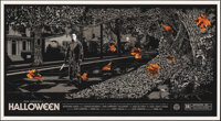 """Halloween, 2/65 by Ken Taylor (Mondo, 2012). Mint. Hand Numbered Limited Edition Screen Print (24"""" X 36""""; 61 X..."""