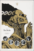 """Movie Posters:Horror, The Bride of Frankenstein, 5/235 by Martin Ansin (Mondo, 2010). Near Mint-. Hand Numbered Limited Edition Screen Print (36"""" ..."""