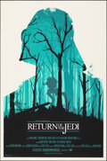 """Movie Posters:Science Fiction, Return of the Jedi, 77/400 by Olly Moss (Mondo, 2010). Mint. Hand Numbered Limited Edition Screen Print (36"""" X 24""""; 91.5 X 6..."""