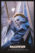 """Movie Posters:Horror, Halloween, 15/300 by Jason Edmiston (Mondo, 2015). Mint. Hand Signed and Numbered Limited Edition Screen Print (36"""" X 24""""; 9..."""