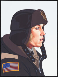 """Fargo, 10/50 by Mike Mitchell (Mondo, 2013). Mint. Hand Signed and Numbered Limited Edition Giclee Print (16"""" X 12&..."""