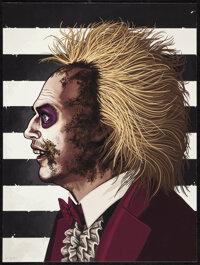 Beetlejuice, AP by Mike Mitchell (Mondo, 2013). Mint. Hand Signed and Numbered Artists Proof of a Limited Edition Giclee...