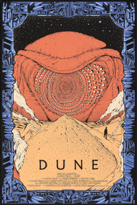 """Dune, 1/175 by Kilian Eng (Mondo, 2012). Mint. Hand Numbered Limited Edition Screen Print (36"""" X 24""""; 91.5 X 6..."""
