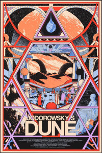 """Jodorowsky's Dune, 3/290 by Kilian Eng (Mondo, 2012). Mint. Hand Numbered Limited Edition Screen Print (36"""" X 24&qu..."""