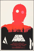 """Movie Posters:Science Fiction, Star Wars, 76/400 by Olly Moss (Mondo, 2010). Mint. Hand Numbered Limited Edition Screen Print (36"""" X 24""""; 91.5 X 61 cm).. ..."""