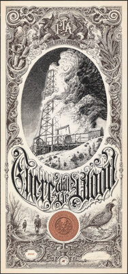 There Will Be Blood, AP 13/18 by Aaron Horkey (Mondo, 2013). Mint. Hand Signed and Numbered Artists Proof of a Limited E...