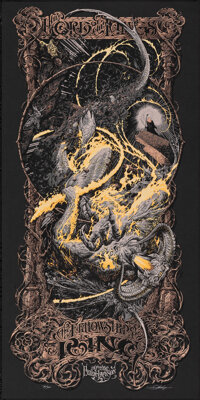 The Lord of the Rings: The Fellowship of the Ring, 31/361 by Aaron Horkey (Mondo, 2015). Mint. Hand Signed and Numbered...