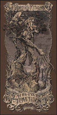 The Lord of the Rings: The Two Towers, 31/233 by Aaron Horkey (Mondo, 2013). Mint. Hand Signed and Numbered Variant Limi...