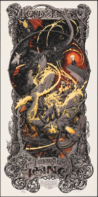 The Lord of the Rings: The Fellowship of the Ring, AP 25/25 by Aaron Horkey (Mondo, 2015). Mint. Hand Numbered Artists P...