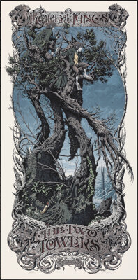 The Lord of the Rings: The Two Towers, AP 18/18 by Aaron Horkey (Mondo, 2013). Mint. Hand Signed and Numbered Artist's P...