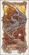 Movie Posters:Fantasy, The Lord of the Rings: The Return of the King, AP 4/5 by Aaron Horkey (Mondo, 2012). Mint. Hand Signed and Numbered Artist's...