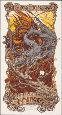 The Lord of the Rings: The Return of the King, AP 4/5 by Aaron Horkey (Mondo, 2012). Mint. Hand Signed and Numbered Arti...
