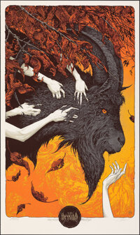 The Witch, AP 34/35 & 12/15 by Aaron Horkey (Mondo, 2016). Mint. Hand Signed and Numbered Artists Proof of Limited E...