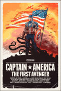 Movie Posters:Action, Captain America: The First Avenger, AP 25/25 by Grzegorz Domaradzki (Grey Matter Art, 2019). Mint. Hand Signed and Numbered ...
