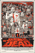 """Movie Posters:Comedy, Shaun of the Dead, 300/300 by Tyler Stout (Mondo, 2013). Mint. Hand Numbered Limited Edition Screen Print (36"""" X 24""""; 91.5 X..."""