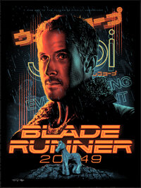 Blade Runner 2049, 29/100 by Tracie Ching (Spoke Art, 2018). Mint. Hand Signed and Numbered Limited Edition Screen Print...