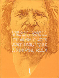 """The Big Lebowski, 17/80 by Oliver Barrett (Spoke Art, 2012). Mint. Hand Numbered Limited Edition Screen Print (24""""..."""