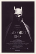 """Movie Posters:Action, The Dark Knight Rises, 118/180 by Olly Moss (Mondo, 2012). Mint. Hand Signed and Numbered Limited Edition Screen Print (36"""" ..."""