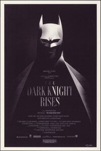 The Dark Knight Rises, 118/180 by Olly Moss (Mondo, 2012). Mint. Hand Signed and Numbered Limited Edition Screen Print (...
