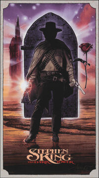 The Dark Tower, 237/450 by Drew Struzan (Drew Struzan, 2007). Mint. Hand Signed and Numbered Limited Edition Screen Prin...
