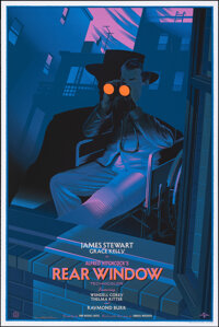 Rear Window, 160/175 by Laurent Durieux (Mondo, 2014). Near Mint/Mint. Hand Signed and Numbered Variant Limited Edition...