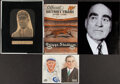 Autographs:Index Cards, Vintage Baseball Signed Cuts, Lot of 5. ...