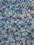 Prints & Multiples, Takashi Murakami (b. 1962). Zero-One, 2016. Offset lithograph in colors on satin wove paper. 27-1/4 x 20-3/4 inches (69....