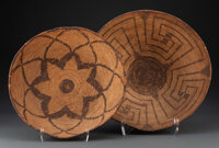 Two Large Southwest Coiled Bowls... (Total: 2 )