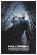 """Movie Posters:Horror, Halloween, 59/225 by Bill Sienkiewicz (Mondo, 2018). Mint. Hand Numbered Limited Edition Screen Print (36"""" X 24""""; 91.5 X 61 ..."""