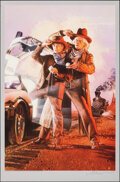 Movie Posters:Science Fiction, Back to the Future Part III, AP 4/10 by Drew Struzan (Galactic Gallery, 2020). Mint. Hand Signed and Numbered Artist's Proof...