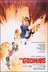 The Goonies, AP 27/40 by Drew Struzan (Bottleneck, 2020). Mint. Hand Signed and Numbered Artist's Proof of a Limited Edi...