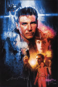 Movie Posters:Science Fiction, Blade Runner, AP 37/50 by Drew Struzan (Bottleneck, 2019). Near Mint-. Hand Signed and Numbered Artist's Proof of a Limited ...