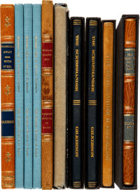 William Gilkerson. Collection of First Editions, Most With Original Artwork or Signed. [Various Places, various publi