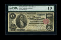Large Size:Silver Certificates, Fr. 343 $100 1891 Silver Certificate PMG Very Good 10....