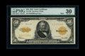 Large Size:Gold Certificates, Fr. 1200 $50 1922 Mule Gold Certificate PMG Very Fine 30....