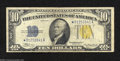 Small Size:World War II Emergency Notes, Fr. 2309 $10 1934-A North Africa Silver Star Certificate. ...