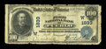 National Bank Notes:Colorado, Pueblo, CO - $100 1902 Date Back Fr. 692 The First NB Ch. #(W)1833. ...