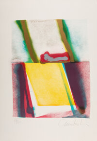 John Chamberlain (1927-2011) Flashback V, from Flashback, 1979 Screenprint in colors on Arches paper
