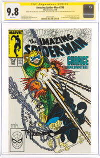 The Amazing Spider-Man #298 Signature Series: Bob McLeod, Todd McFarlane and others (Marvel, 1988) CGC NM/MT 9.8 White p...