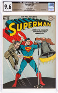 Golden Age (1938-1955):Superhero, Superman #26 The Promise Collection Pedigree (DC, 1944) CGC NM+ 9.6 Off-white to white pages....