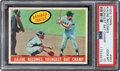 """Baseball Cards:Singles (1950-1959), 1959 Topps """"Kaline Becomes Youngest Bat Champ"""" #463 PSA Ge..."""