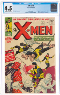 X-Men #1 (Marvel, 1963) CGC VG+ 4.5 Off-white to white pages
