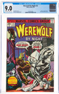 Bronze Age (1970-1979):Horror, Werewolf by Night #32 (Marvel, 1975) CGC VF/NM 9.0 Off-white to white pages....