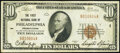 National Bank Notes:Pennsylvania, Philadelphia, PA - $10 1929 Ty. 1 The First National Bank Ch. # 1 Fine-Very Fine.. ...