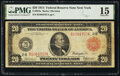 Large Size:Federal Reserve Notes, Fr. 953a $20 1914 Red Seal Federal Reserve Note PMG Choice Fine 15.. ...
