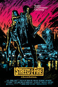 """Movie Posters:Action, Streets of Fire (Universal, 1984). Rolled, Very Fine+. Autographed One Sheet (27"""" X 40"""").. ..."""