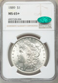 1889 $1 Clashed In, VAM-19B1, MS65+ NGC. CAC. NGC Census: (2310/194 and 22/9+). PCGS Population: (2530/460 and 112/73+)...