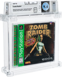 Tomb Raider (Greatest Hits) - Wata 9.6 A++ Sealed [Sony Security Label], PS1 Eidos 1996 USA